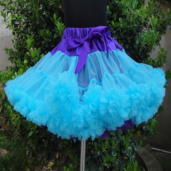 New designs free shipping fluffy nylon pettiskirt Baby Girls classic style good quality girls festival tutu skirt PETS-080