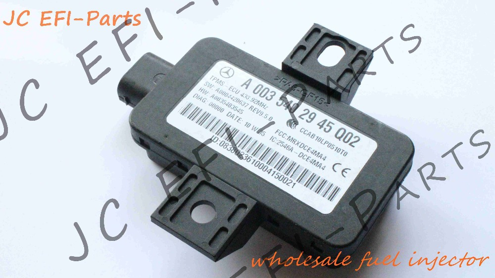 A0035402945 TPMS ECU TPMS CONTROL MODEL TIRE PRESSURE MONITOR COMPONENTS FOR Mercedes Benz