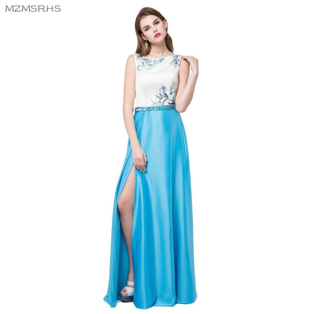 Robe De Soiree Vestido de noche elegante con abalorios de satén y - Vestidos para ocasiones especiales - foto 1
