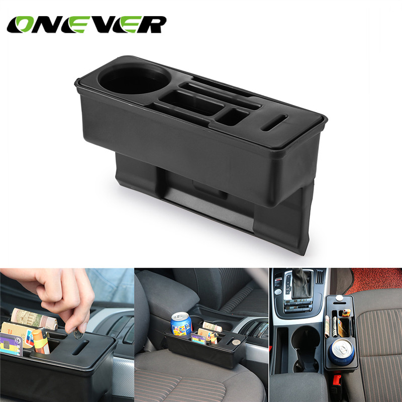 Onever Car Console Side Pocket Seat Crevice Storage