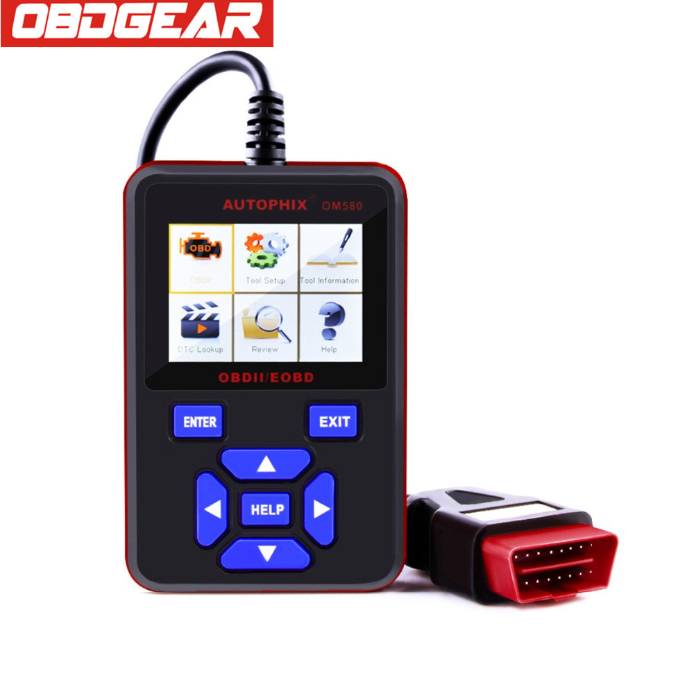 Autophix OM580 OBD OBD2 Automotive Scaner In Portuguese OM580 Diagnostic Scanner JOBD EOBD Multi-languages For Car Diagnostic quicklynks t80 jobd obd2 eobd color display auto scanner t80 for japan cars wider vehicle coverage with can protocol support
