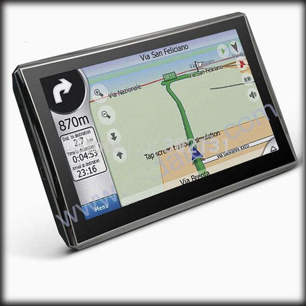 By Dhl Or Ems  Inch Car Gps Navigator Fmgbddrm