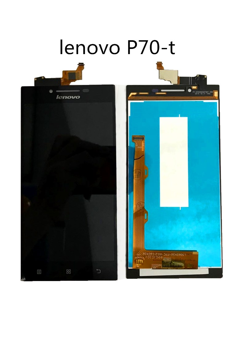 100% Original NEW LCD Display Touch Screen Digitizer Assembly For LENOVO P70 A P70-A P70A P70t Phone Sensor Parts