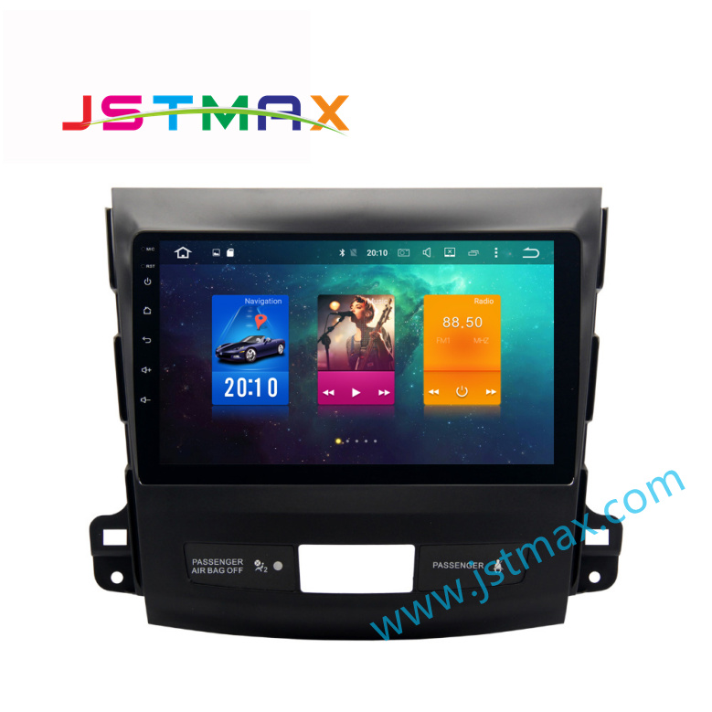 9 Android 6 0 Media Car GPS Player for Mitsubishi Outlander 2007 2011 with Octa Core