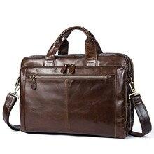 Кожаная мужская сумка для ноутбука, мужские сумки для компьютера/документов, мужской портфель, мужские сумки из натуральной кожи, сумка-мессенджер