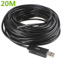 20M USB Waterproof Borescope Endoscope Inspection Snake Tube Video Mini Camera