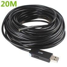 20M USB Waterproof Borescope Endoscope Inspection Snake Tube Video Mini Camera