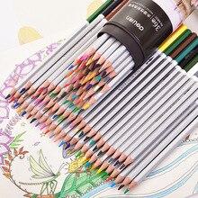 Deli 2019 Professional Water Soluble Colored Pencils 24/36/48/72 Colors Non-toxic Color Pencil for Art Supplies 24 36 48 72 colors pencil water color pencils painting colorful watercolor pen student supplies paint pencil