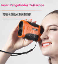 Hand-held Infrared Laser Rangefinder Range Finder Binoculars Height Measurement Angle Measuring Ranging Telescope Precision 1mm