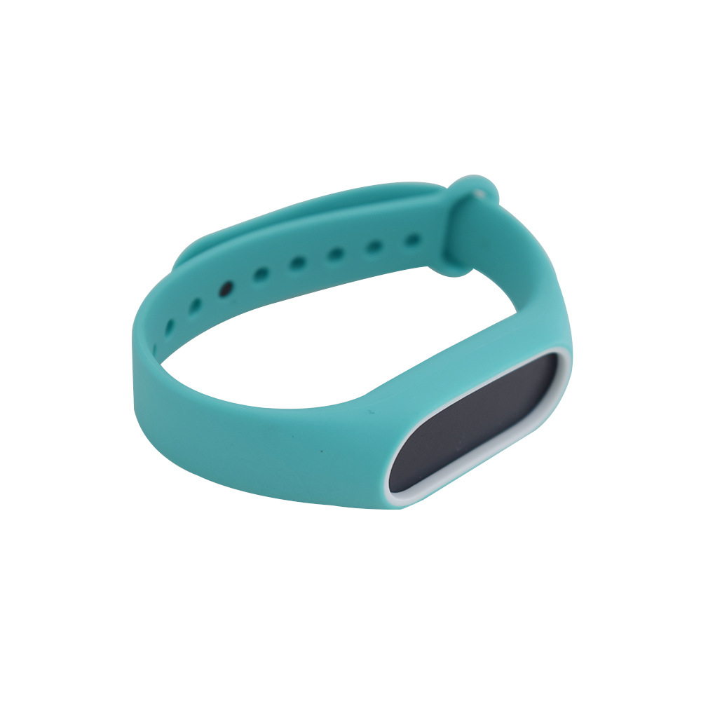 Colorful Silicone Wrist Strap Bracelet Double Color Replacement watchband for Miband 2 Xiaomi Mi band 2 Wristbands P15 new fashion original silicon wrist strap wristband bracelet replacement for xiaomi mi band 2 dignity 8 9
