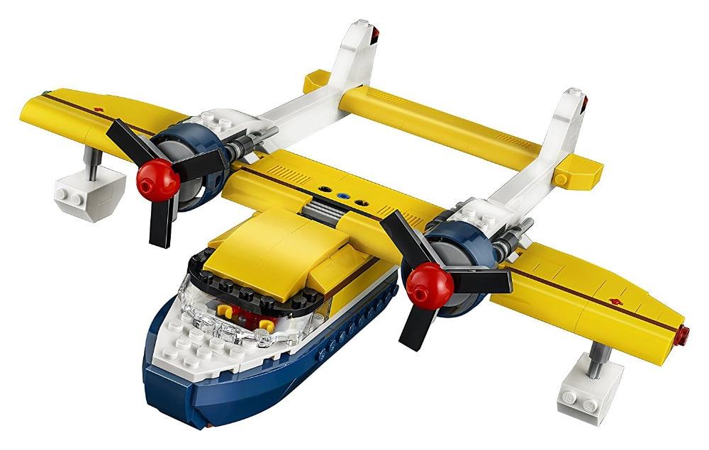 LEPIN City Creator 3 in 1 Island Adventures Building Blocks Bricks Kids Model Toys For Children Marvel Compatible Legoings