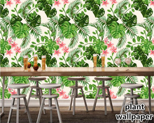 beibehang Custom wallpaper hand-painted European classic pastoral banana tropical rainforest Southeast Asia wall 3d wallpaper  beibehang custom mural 3d wallpaper southeast asia tropical rainforest banana leaf birds and flowers background wall wallpaper
