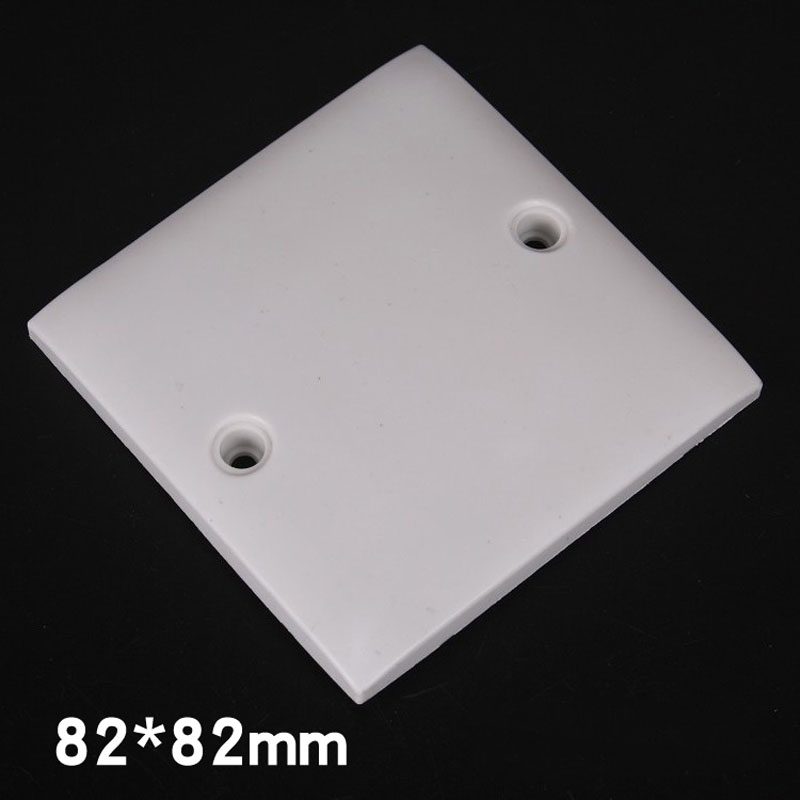 10pcs White Cover Sheet Plastic Cover Sheet Blank Panel for Engineering Whiteboard