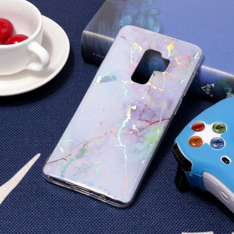 for Samsung S9 Marble Cases for Coque Samsung Galaxy S9 Plus S 9 S9Plus Granite Back Cover Soft Silicone TPU Gel Capinhas Etui in Fitted Cases from Cellphones Telecommunications