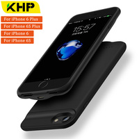 2018 KHP New Battery Charger Case For IPhone 6 Plus 6s Plus Case 2500 3200mAh Slim