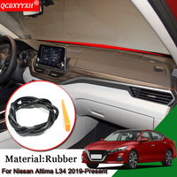 Car Styling Anti-Noise Soundproof Dustproof Car Dashboard Windshield Sealing Strips Auto Accessories For Nissan Altima L34 2019