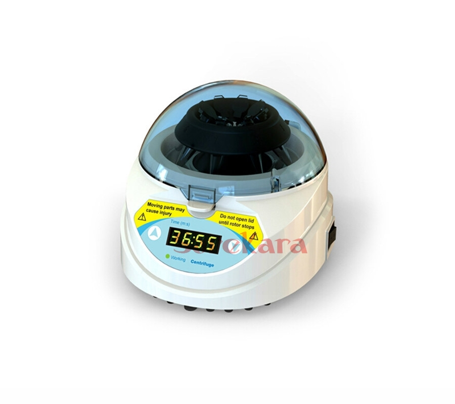 Microcentrifuge Mini-6K mini centrifuge 6000RPM timer digital display for lab 80 1 electric experimental centrifuge medical lab centrifuge laboratory lab supplies medical practice 4000 rpm 20 ml x 6