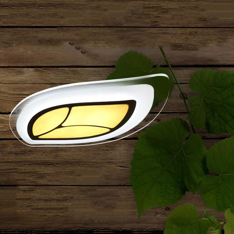 Ambitious Creative Slim Ceiling Lamp Ac90-265v leaves Ceiling Light Bedroom / Study Room Ceiling Light 55*35cm Sales