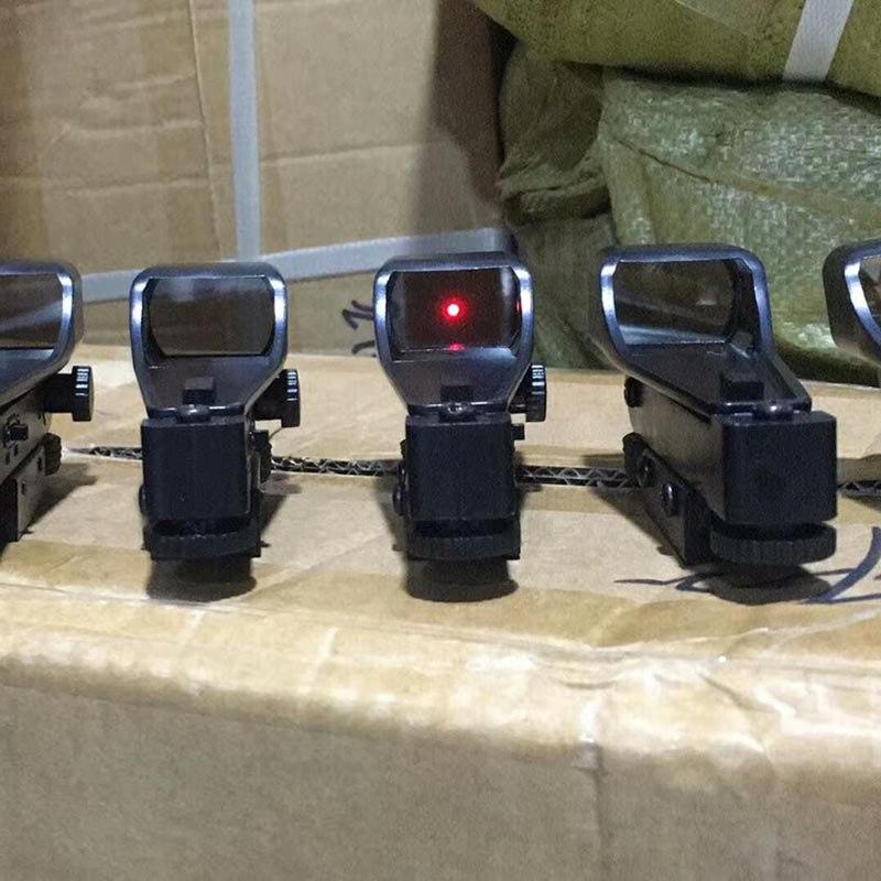 Red Dot Schiene Zielfernrohr Airsoft Holographische Kunststoff Anblick Jagd Umfang Wasser Pistole Zubehör 11mm Karte slot Primäre Verwendung