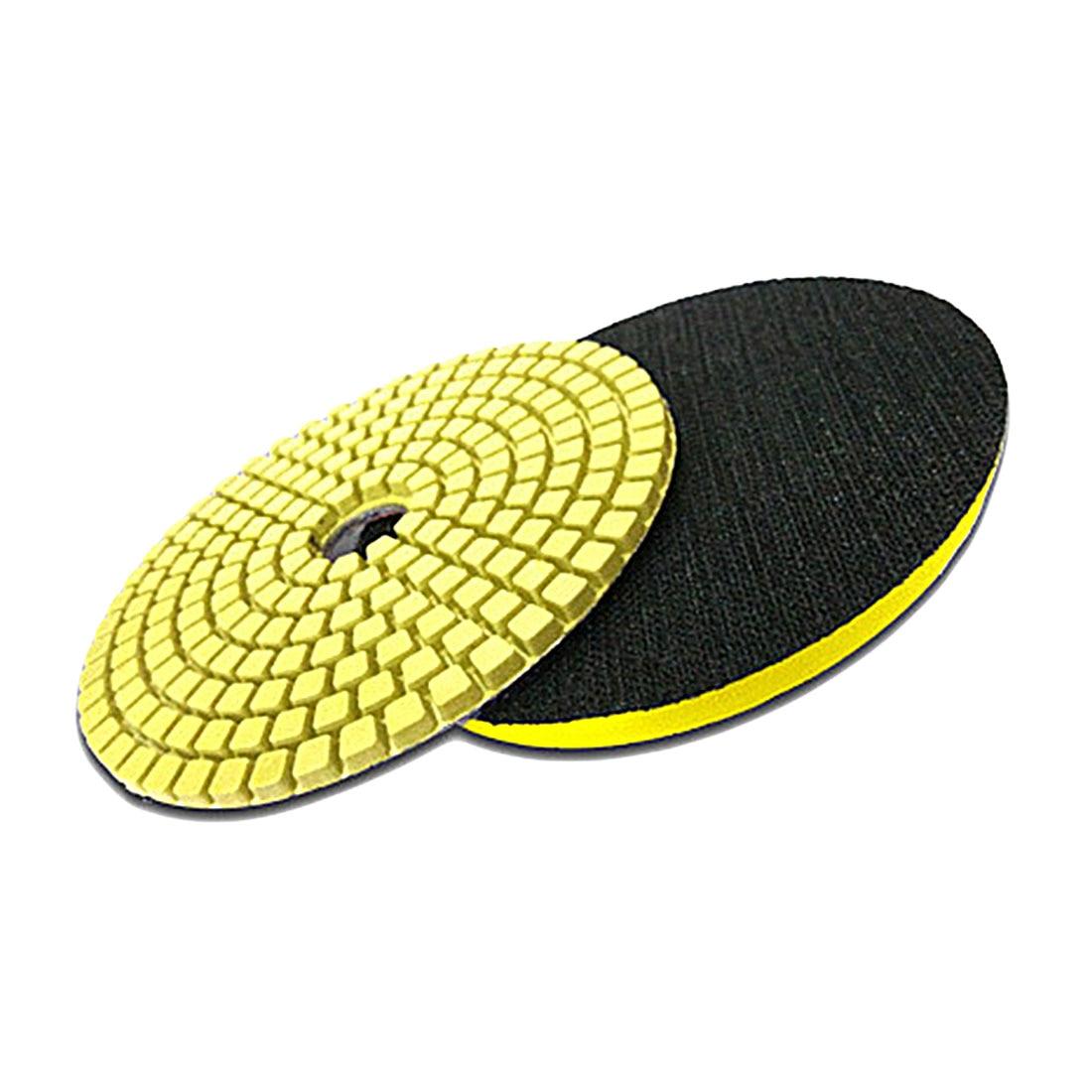 4 100mm Diamond Wet Grinding Disc Flexible Polishing Pad for Marble Stone Ceramic Tiles настенная плитка love ceramic tiles essentia square white ret 35x100