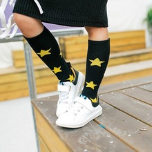 Kid Clothing Accessories Cotton Socks For Baby Toddler Infant Boy Girl Print Stars Moon 2016