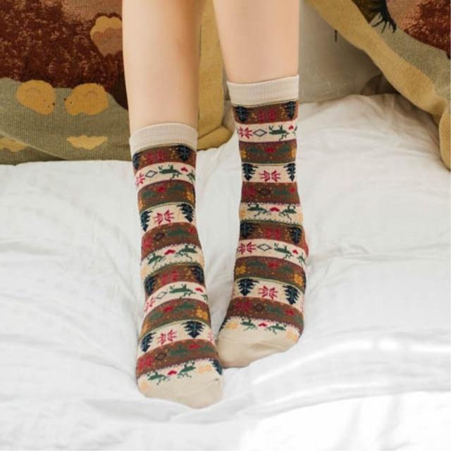 [WPLOIKJD] Japanese Vintage Stripe Cotton Socks Alone Street Creative Socks Women Fashion Odd Future Calcetines Cutting Girl 3
