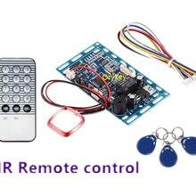 ИК-пульт дистанционного управления+ RFID встроенный контроллер доступа модуль хранилище печатных плат 2000 пользователей
