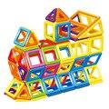 44 unids/lote modelos y juguete del edificio bloques de construcción magnética aprendizaje y educativos juguetes para niños imán de ladrillos técnica de juguete para niños