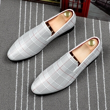 CuddlyIIPanda 2019 Luxury Men Dress Shoes Men Formal Shoes Shoes Pointed Toe Fashion Luxury Wedding Male Fashion Oxfords Loafers
