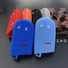 Cover JEEP 500x2 Dodge Chrysler Fiat Shell-Holder Car-Key-Case Car-Styling-Pocket Silicone-Rubber
