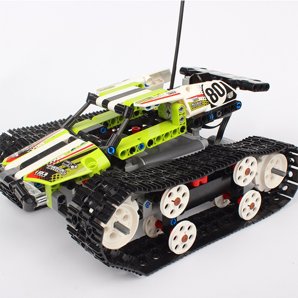 Compatible Legoed Technic 42065 Model 20033 RC Track Remote-control Race Car Building Blocks Bricks Set Toys For Children