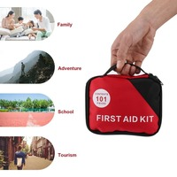 OUTAD 101pcs Set First Aid Kit A Must Have Home Outdoor Emergency Treatment Survival Medical Rescue