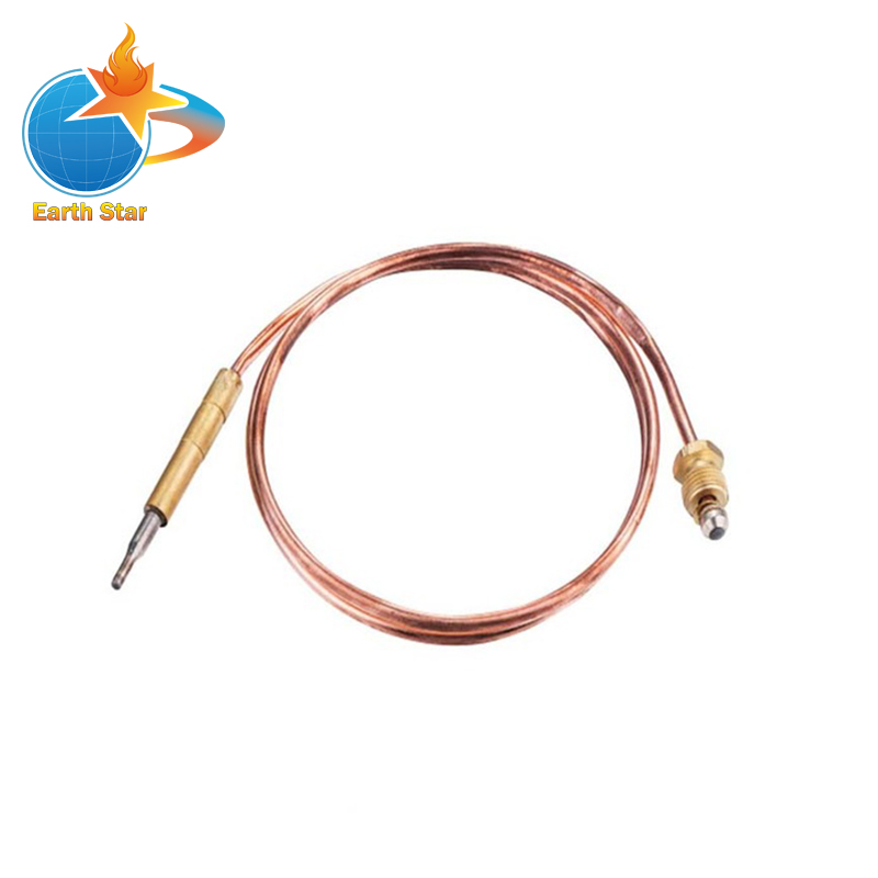 2 PCS 3.0mV Gas thermocouple for Boiler open valve time less than 10s L=400MM M9X1 End Nuts