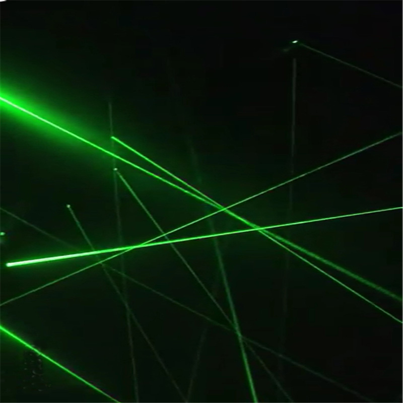 Hotsale magic penetralium escape props Real green laser array chamber of escape secret funny laser safe maze game