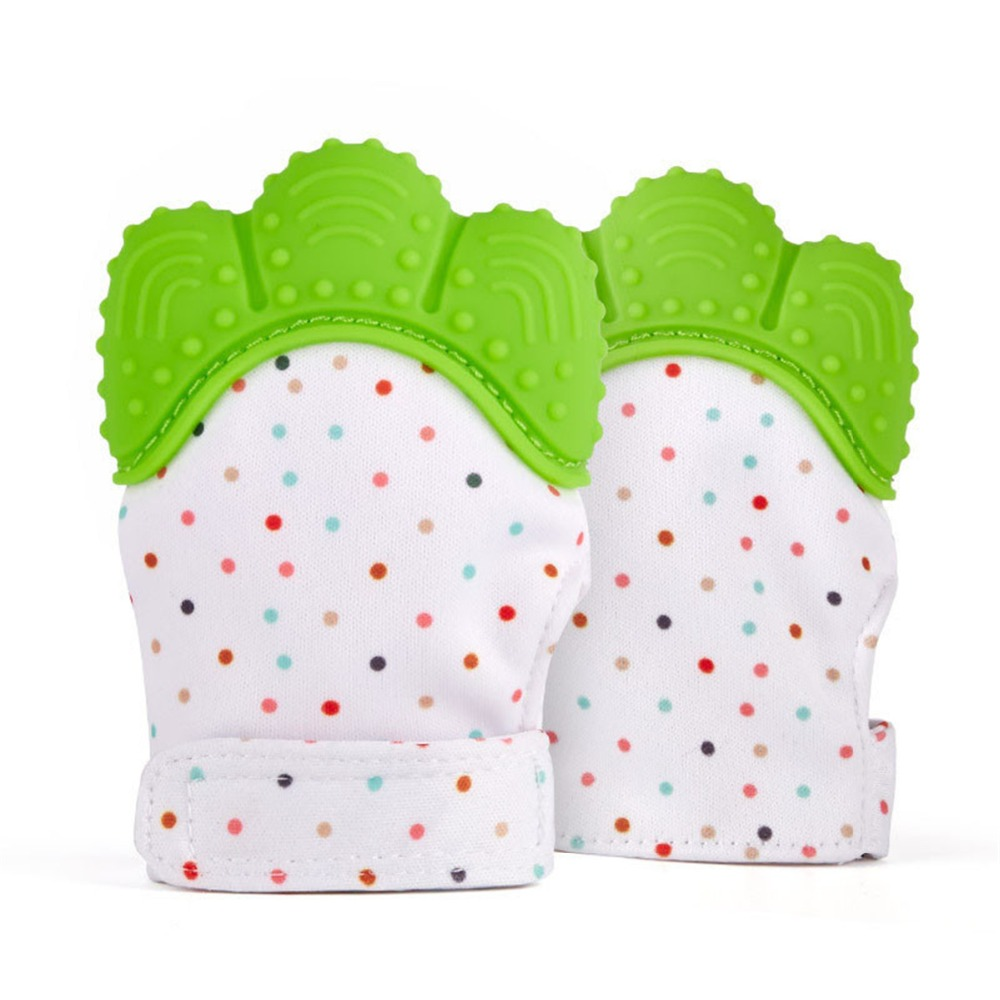 Baby Care Silicone Healthy Thumb Gloves Prevent Stop Finger Sucking TeetherU lq