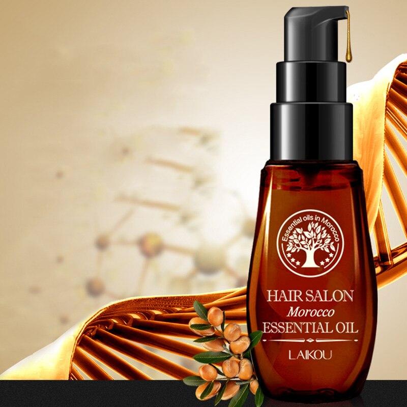 2018 offre spéciale 40 ml Kératine des Cheveux huile d'argan pure Cheveux huile essentielle Pour Crépus Sec Réparation Soin Des Cheveux Cheveux Cuir Chevelu Traitements