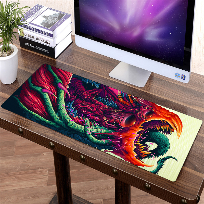 Image 2 - FFFAS 80x30cm Large Custom DIY Mouse pad Mice Gamer Keyboard Mat XL Table Protector Soft Gaming Mousepad for Tablet PC Latop Hot-in Mouse Pads from Computer & Office