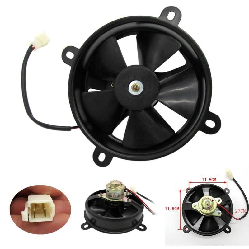 6inch Dia Electric Cooling Fan Radiator for Quad Dirt Bike Buggy 150c 200c Chinese ATV Quad Go Kart Buggy Dirt Bike Motorcycle