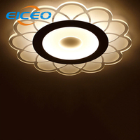 (Eiceo) أدى سقف غرفة المعيشة مصابيح أنيقة قبة ضوء طاحونة أضواء مصباح إضاءة غرفة نوم الأفكار الجديدة