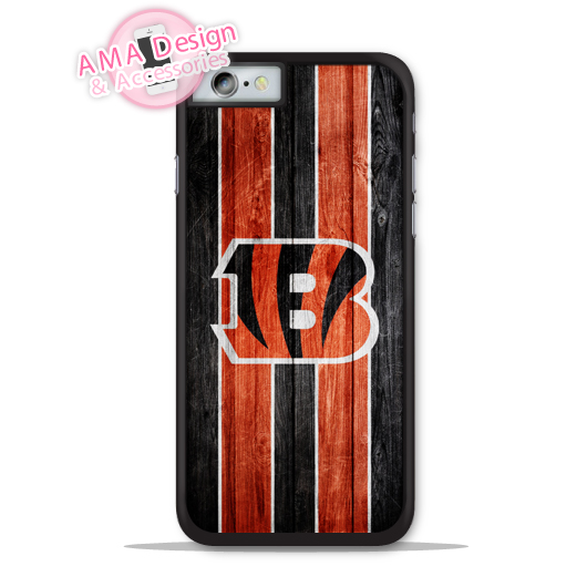 Cincinnati Bengals Football Fans Phone Cover Case For Apple iPhone X 8 7 6 6s Plus 5 5s SE 5c 4 4s For iPod Touch