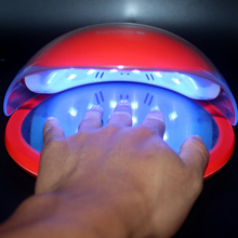 SUN 48W Nail Dryer Dual UV LED Lamp With LCD Time Display LEDs Auto Sensing Manicure Tools Curing Gel Polish