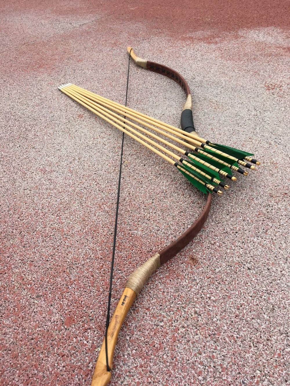 60-90LBS Traditional Chinese longbow handmade Achery longbow for sports hunting +6 Arrows60-90LBS Traditional Chinese longbow handmade Achery longbow for sports hunting +6 Arrows