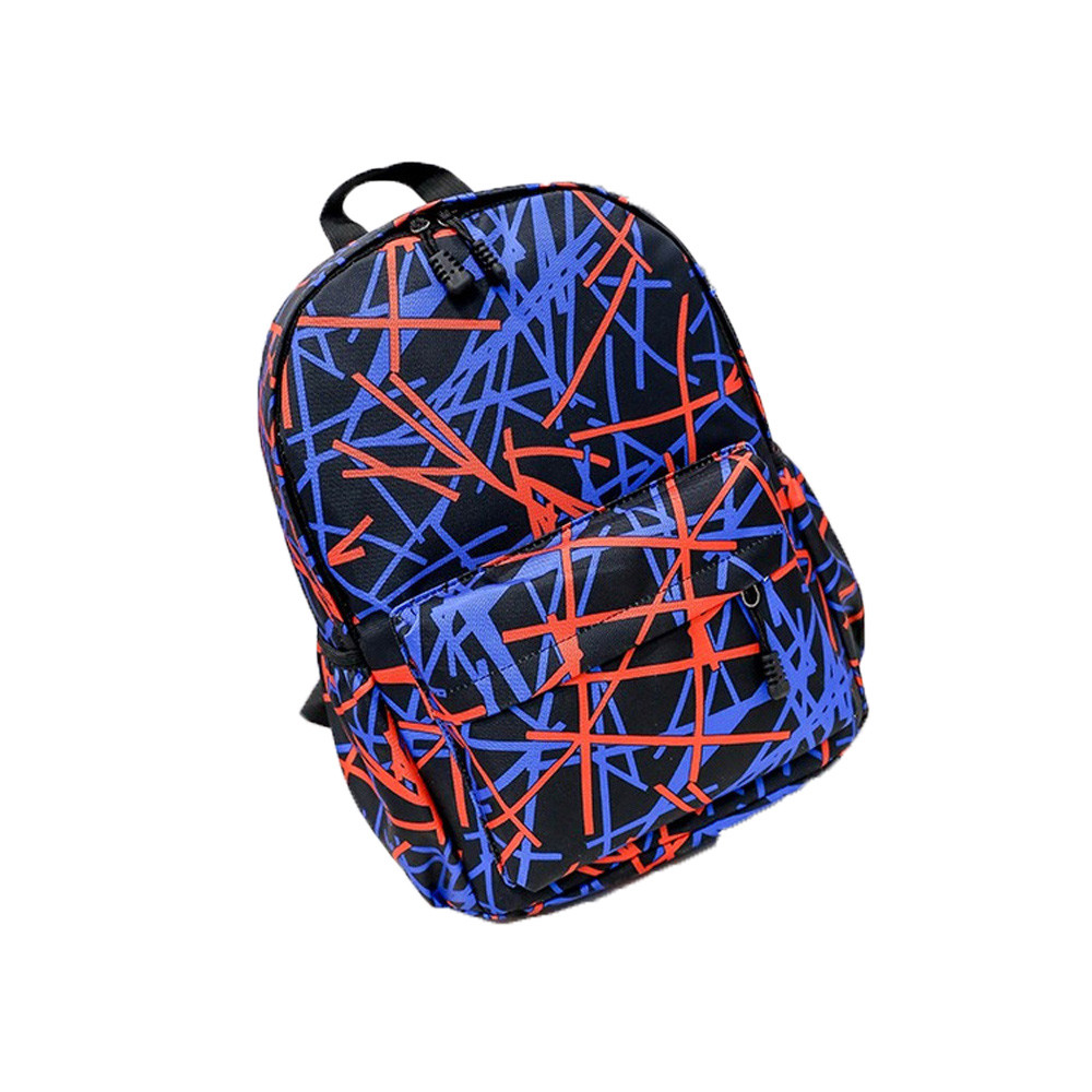 Women Graffiti Pattern Nylon Backpack Stylish Space Backpack Girls School Backbag Travel Bag mochila mulher *10