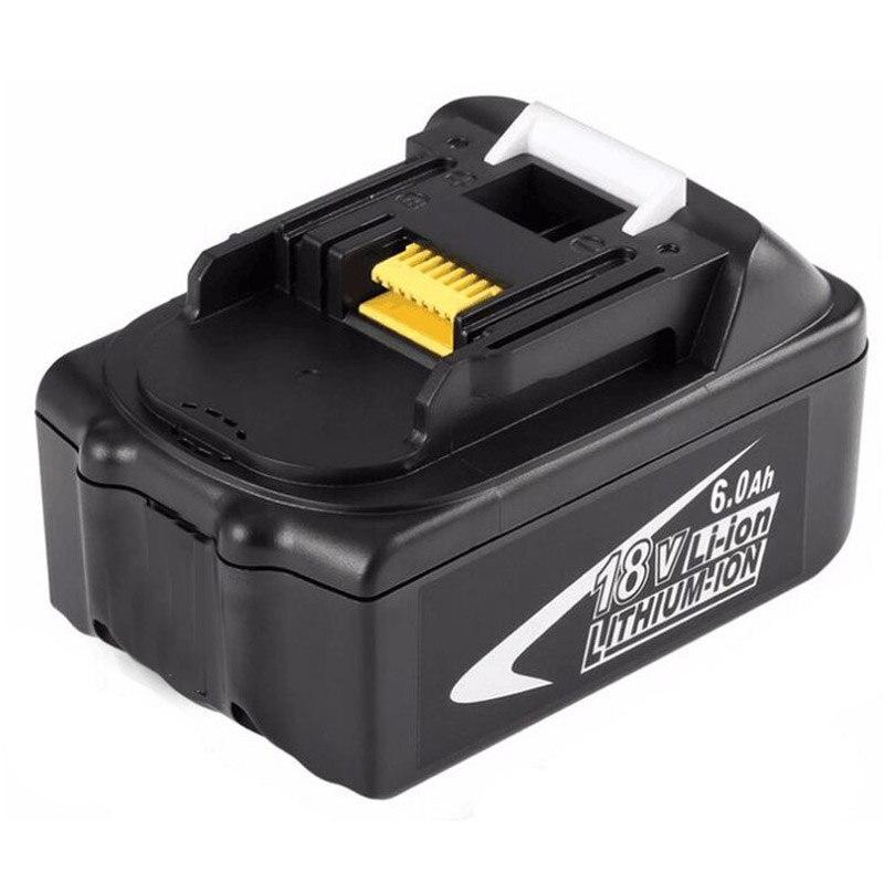 GTF18V 6000 mAh Puissance Outil piles batteries pour Makita BL1860 batterie de rechange Rechargeable Li-ion Batteria 194230-4 LXT400