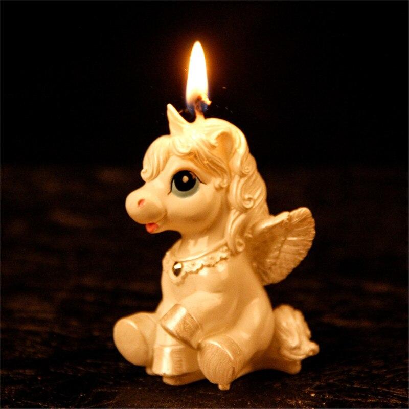 Unicorn Party Unicorn Cake Topper Unicornio Candle Cake ...