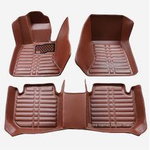 Специальный сделать автомобильные коврики водонепроницаемый для BMW 5 серии E60 E61 520i 523i 525i 528i 530i 535i 525d 530d 535d стайлинга автомобилей 3D ковер