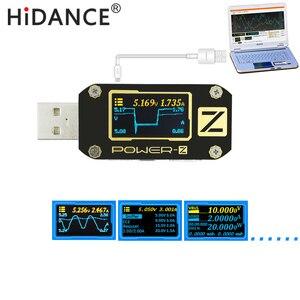 Image 2 - POWER Z USB tester QC3.0/PD Digital voltmeter amperimetro Digital voltage current amp volt Type C meter power bank detector