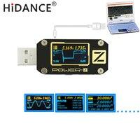 POWER-Z USB testeur QC3.0/PD Numérique voltmètre amperímetro Numérique tension courant amp volt Type-C mètre puissance banque détecteur