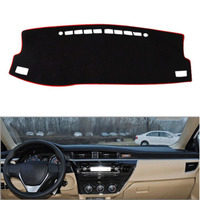 Fit For Toyota Corolla LEVIN 2014 2016 Car Dashboard Cover Avoid Light Pad Instrument Platform Dash