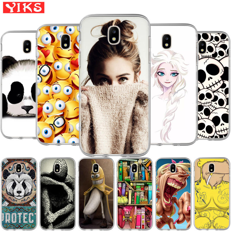 Queen Cute animal panda Case For Samsung Galaxy J3 J5 J7 2015 2016 2017 J2 Prime G530 Cover Case Silicone Soft TPU Coque Capinha image